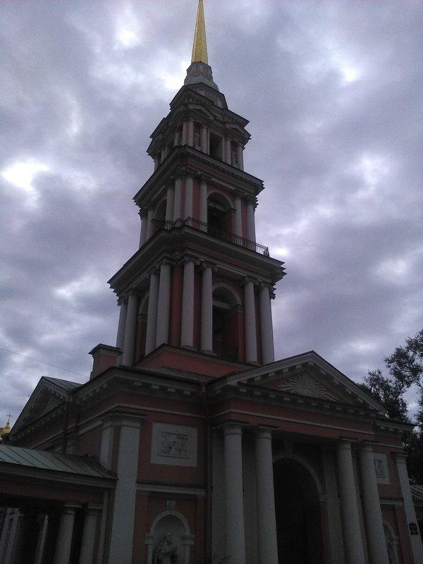 Колокольня Казачьего собора в Петербурге. - Светлана Калмыкова
