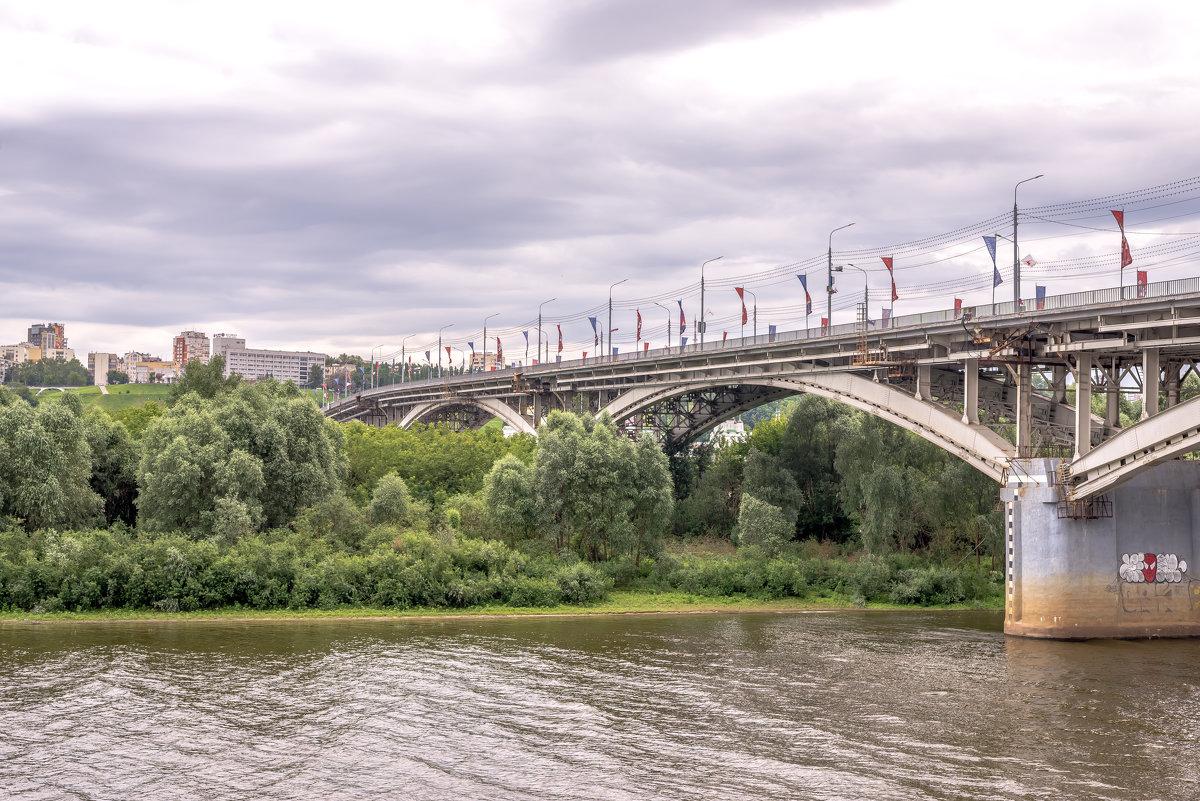 Нижний Новгород. Мост через Оку. - Виктор Орехов