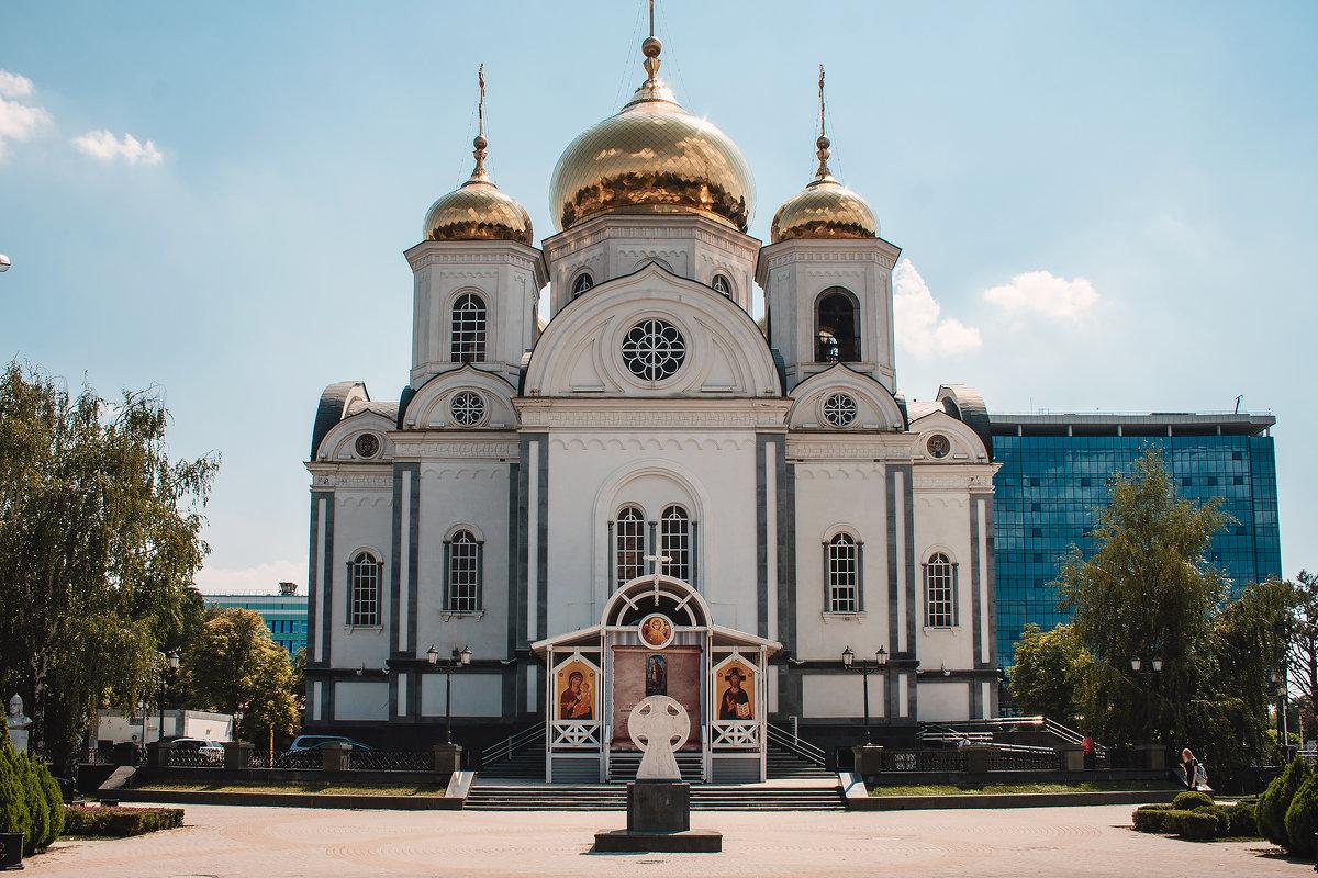 Войсковой собор Александра Невского в Краснодаре - Krasnodar Pictures