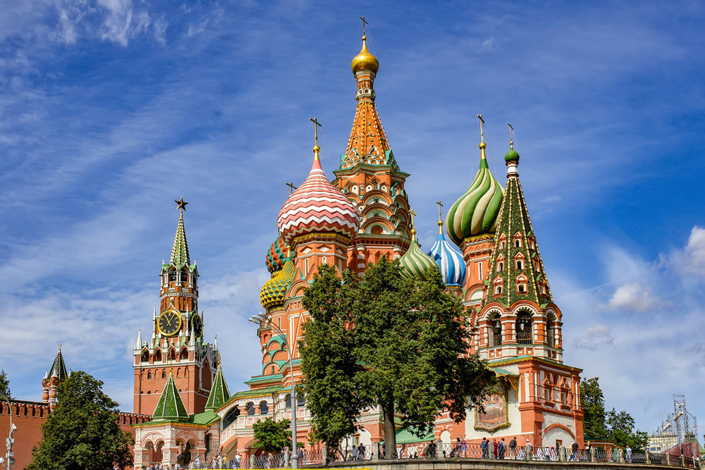 Москва. Собор Василия Блаженного - Николай Николенко
