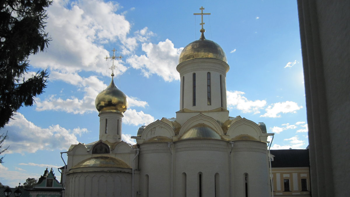 Троицкий собор. 1422-23 гг. - Маера Урусова