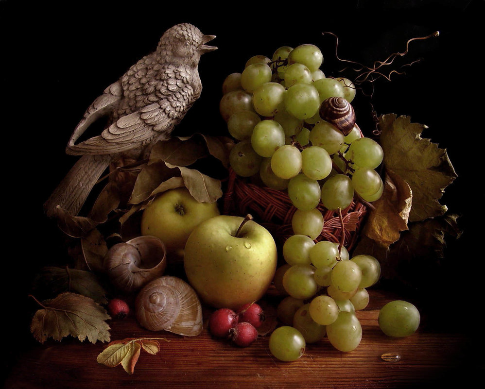 Натюрморт с виноградом. - Nata