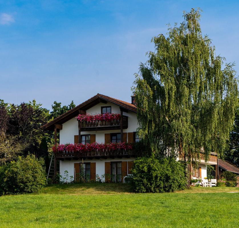 Типичный Баварский дом. - Eugen Pracht
