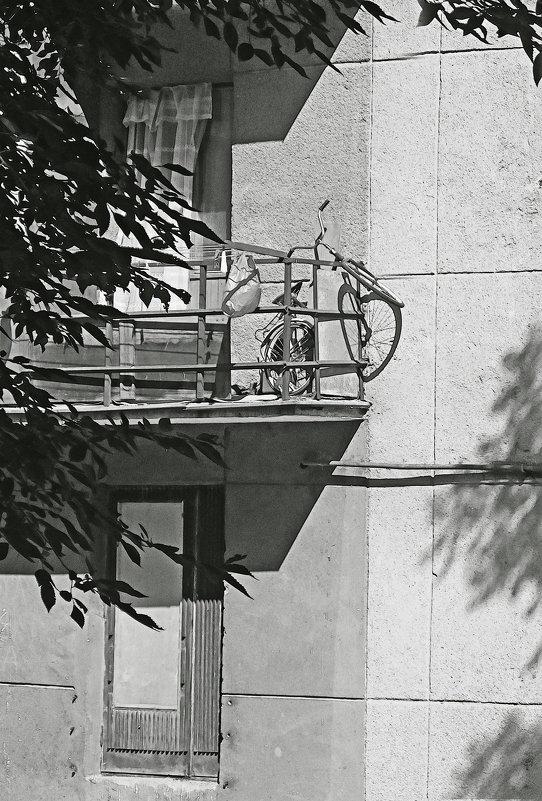 """"""" гараж"""" для велосипеда - Лера"""