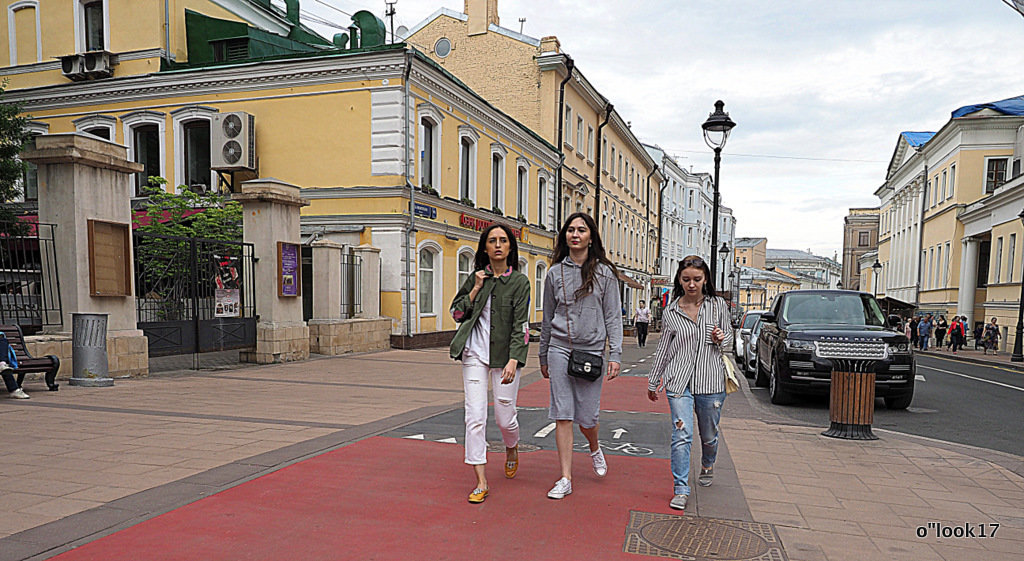 шагаем по Москве - Олег Лукьянов
