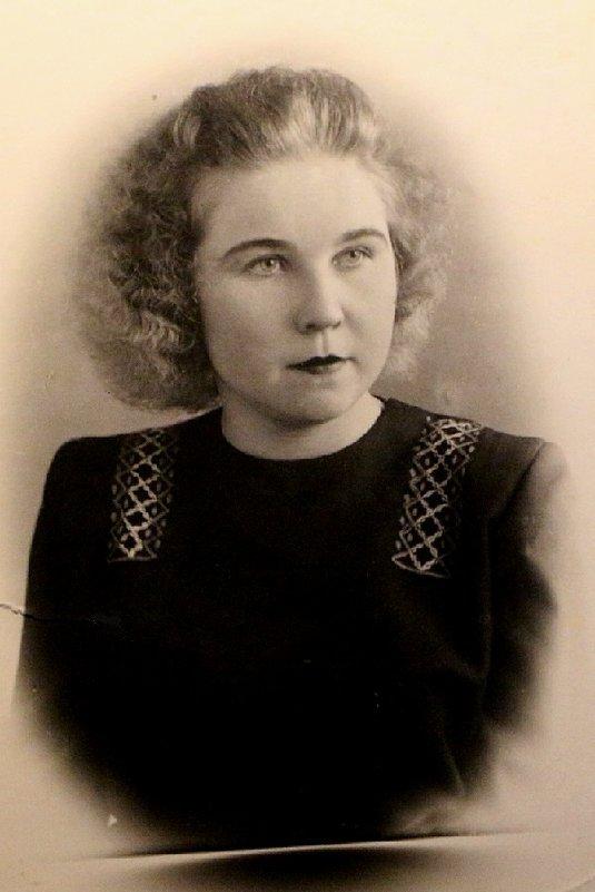 Мама 1951 год - Надежд@ Шавенкова