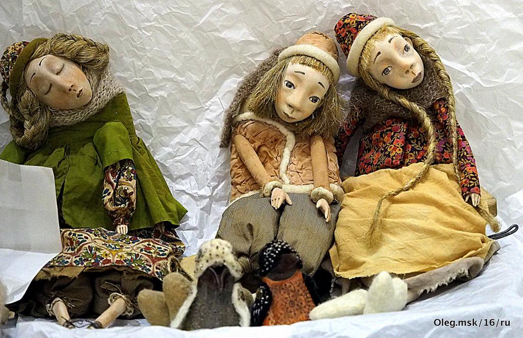 авторские работы-куклы - Олег Лукьянов