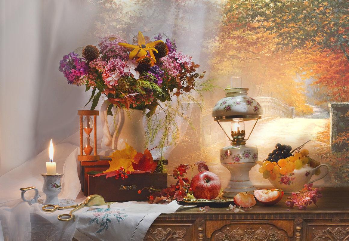 Осенний блюз поет моя душа…