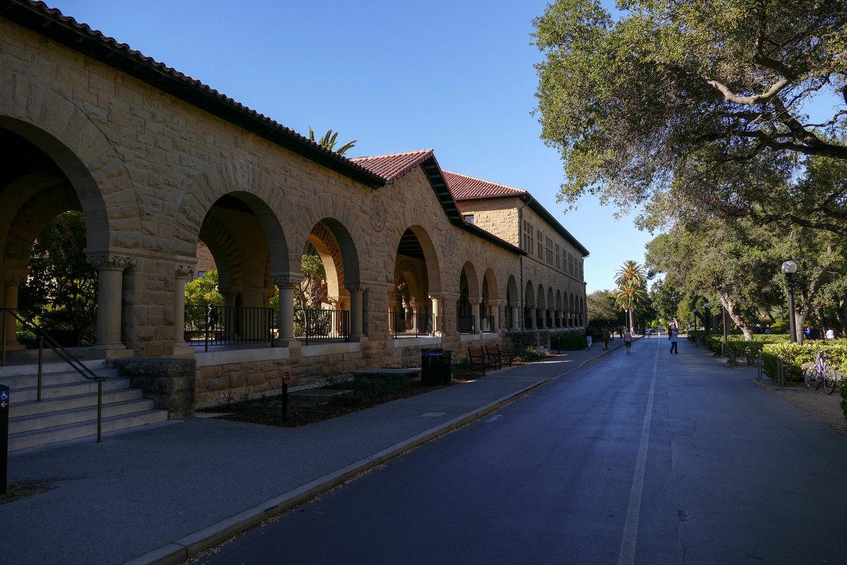 Заканчивая экскурсию по Стэнфордскому Университету - Юрий Поляков
