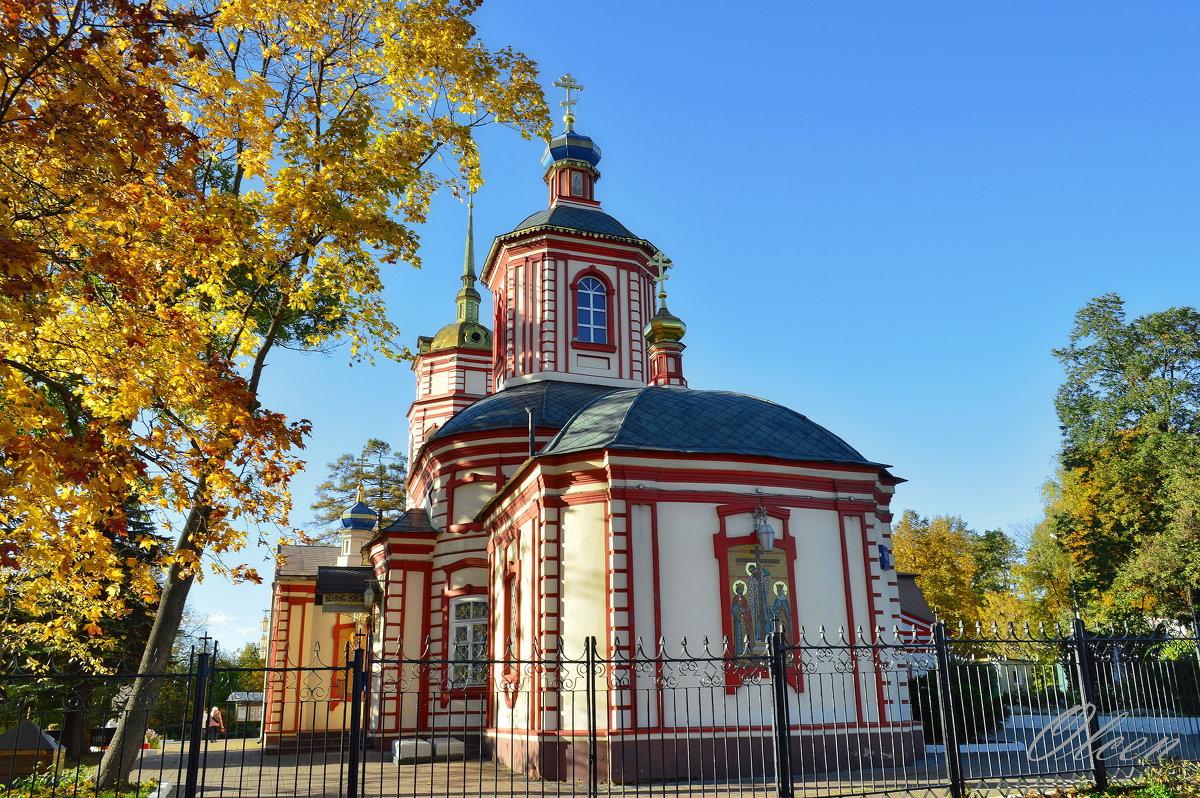 Храм Воздвижения Креста Господня в Алтуфьеве - Olcen Len