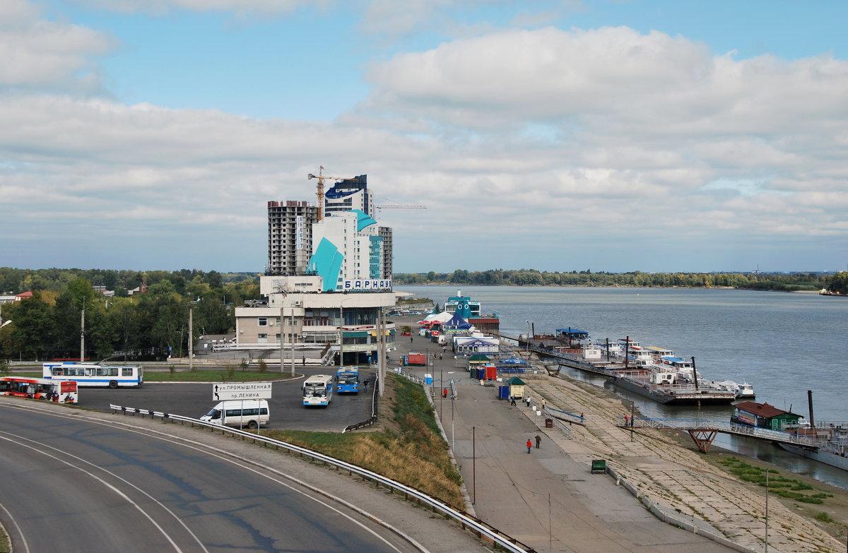 вид на речной вокзал - nataly-teplyakov