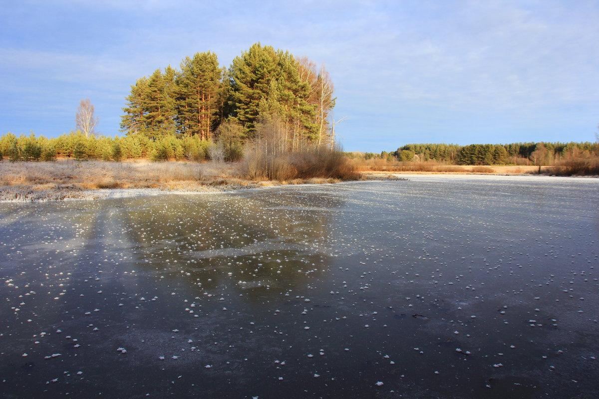 Холодная , ледяная осень... - Александр Широнин