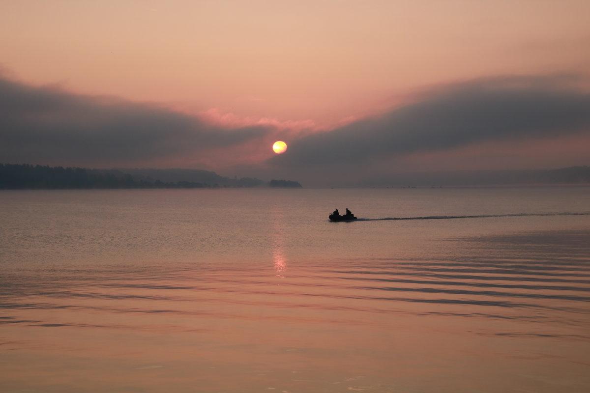Восход в Кинешме.