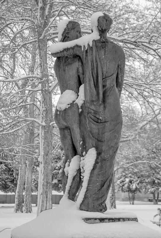 В зимнем парке - Сергей Тарабара