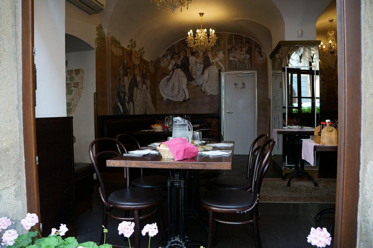Городские кафе.... Прага - Алёна Савина