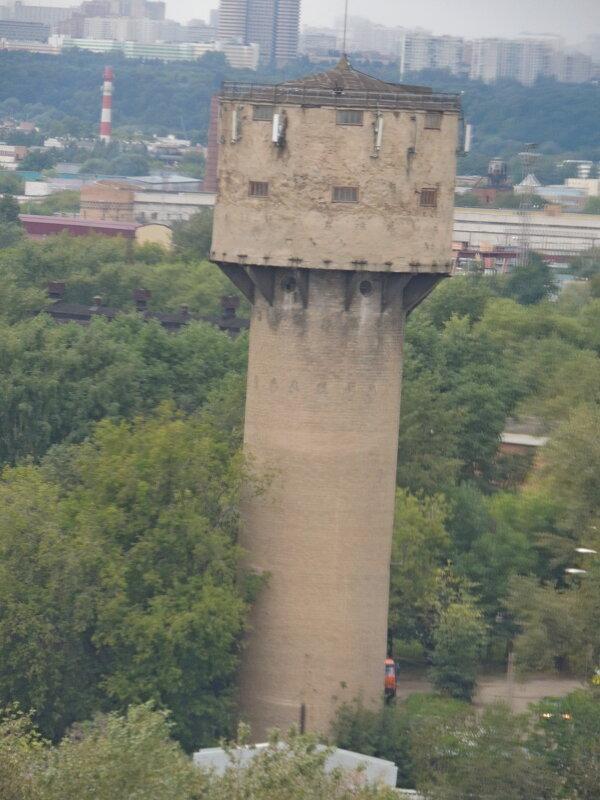 Снесённая водонапорная башня - Москва Люблинский Литейно-Механический завод Москва - Александр Качалин