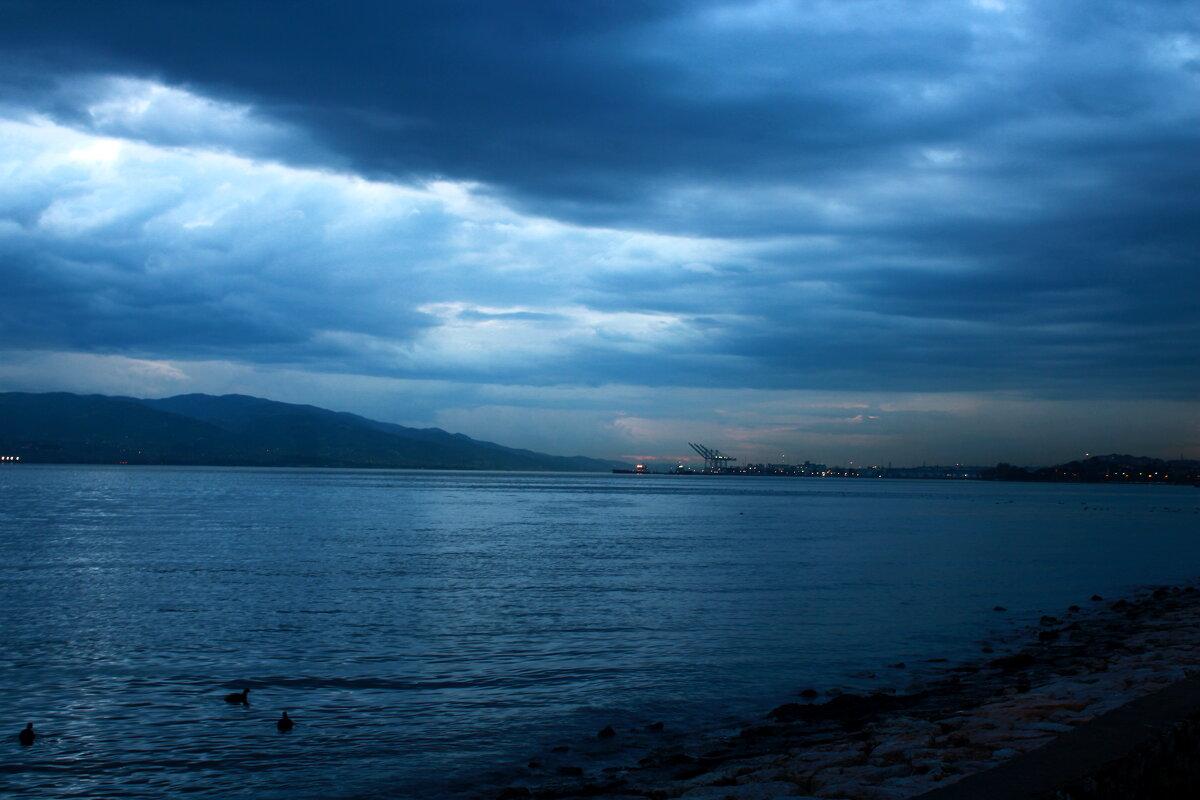 Вечер на море. - веселов михаил
