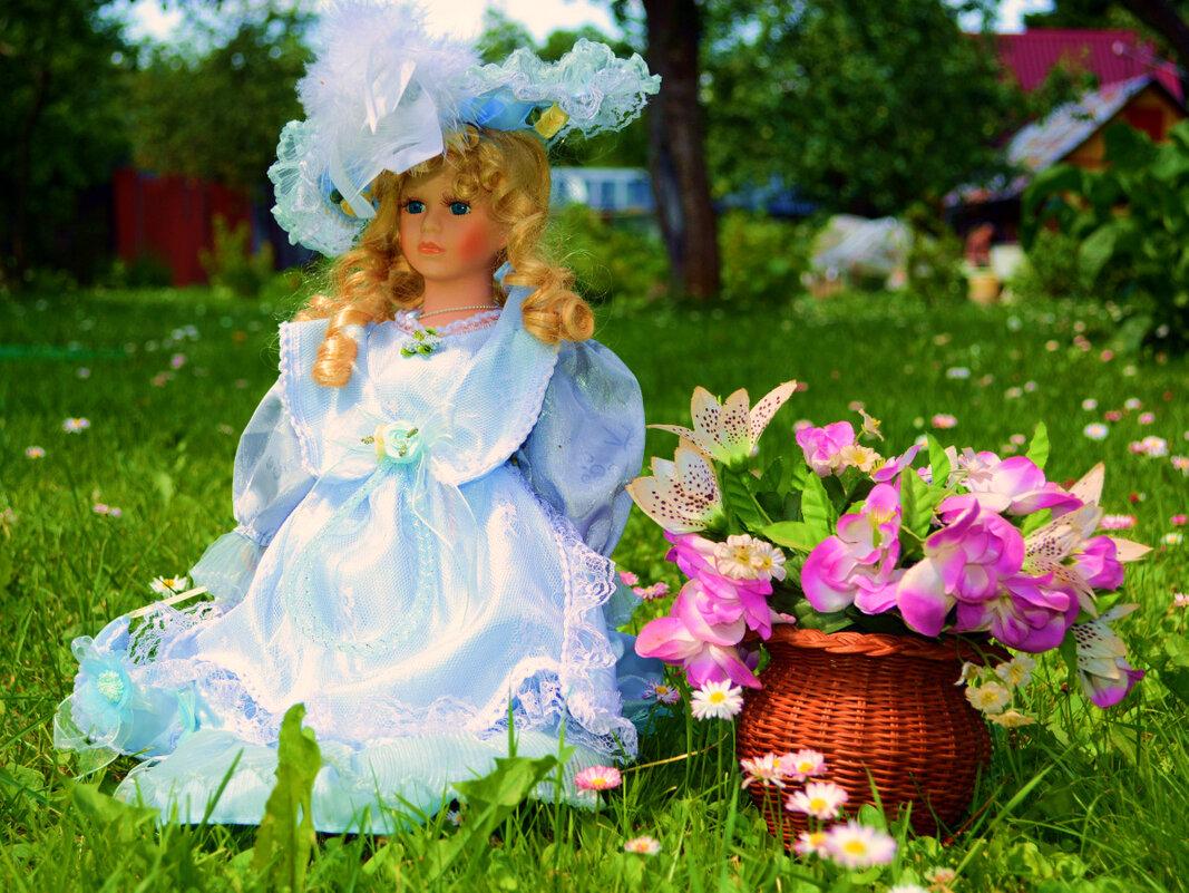 Принцесса в саду... - Ольга (crim41evp)