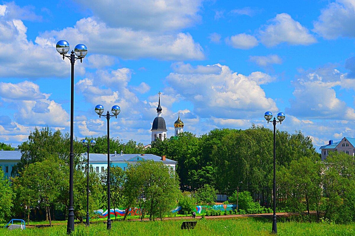 Великие Луки, 5 июня 2020, вид на центр города... - Владимир Павлов