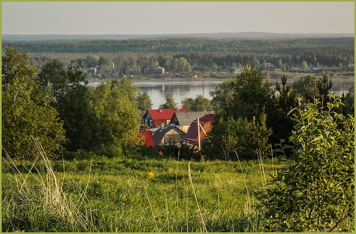 Вид на реку Онега. - Марина Никулина