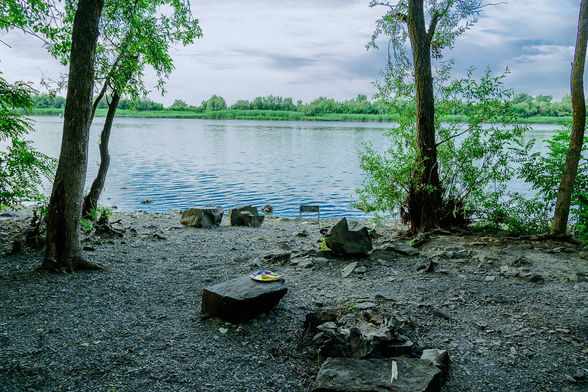 Уголок для отдыха на берегу Дона. - Юрий ЛМ