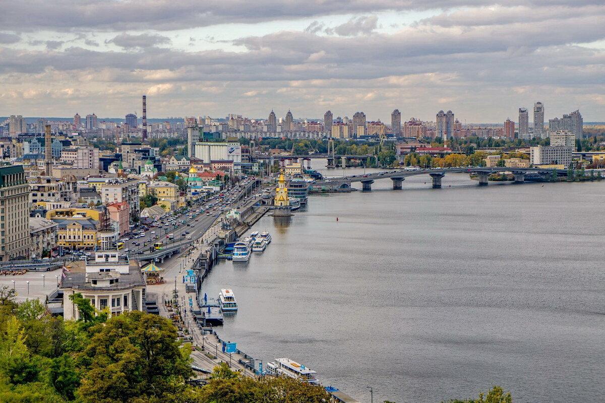 Киев- Вид на Днепр - igor G.