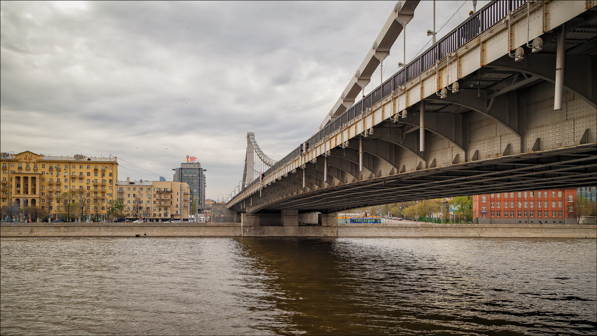Москва. Крымский мост - Сергей Кичигин