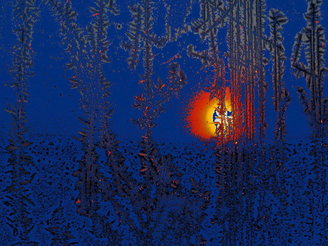 Огнем заката по стеклу... - игорь кио
