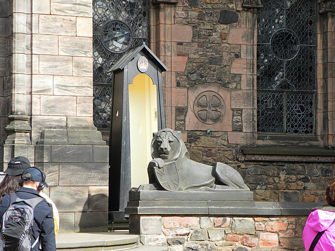 Эдинбургский замок - Галина