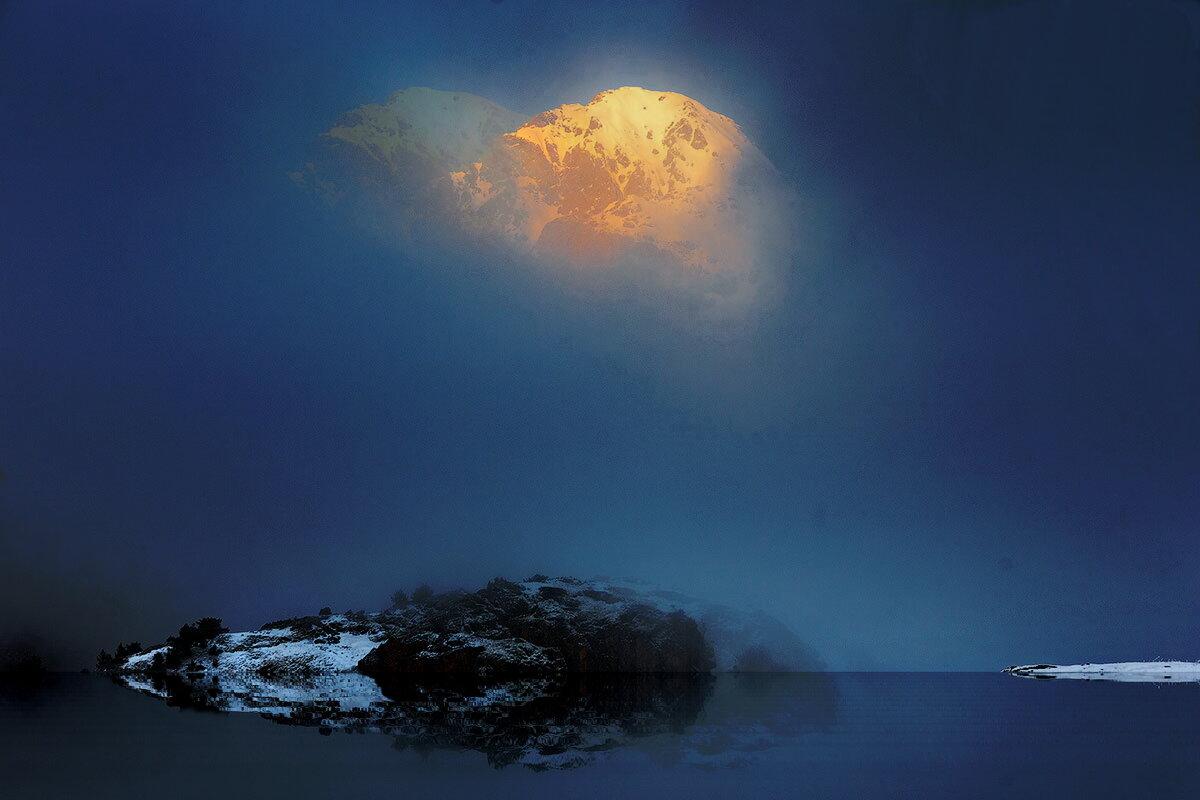Горное озеро - irina Schwarzer