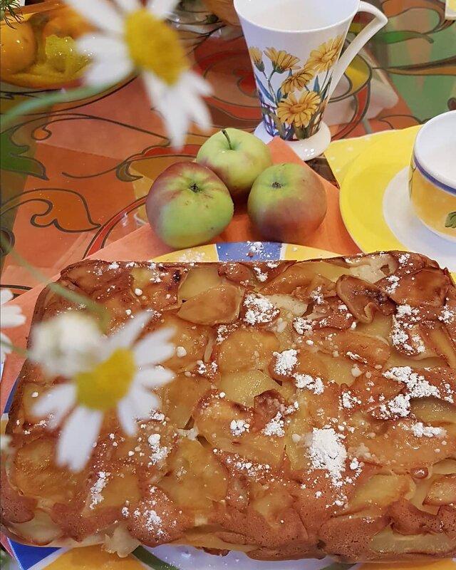 аромат пирога - ваниль и яблоки ))) - Светлана