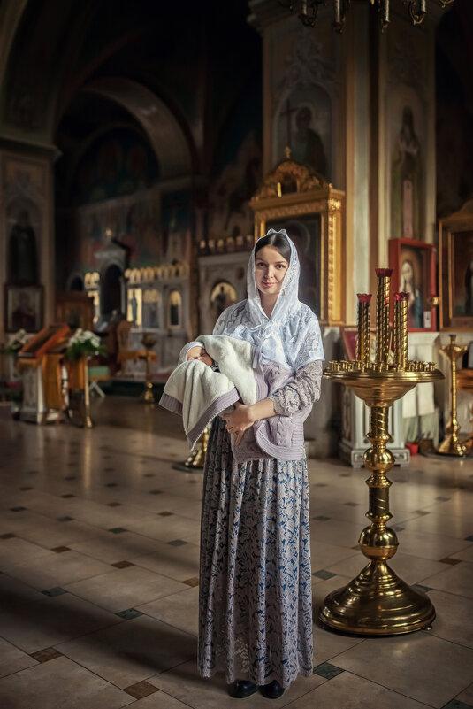 Мать и дитя - Надежда Антонова