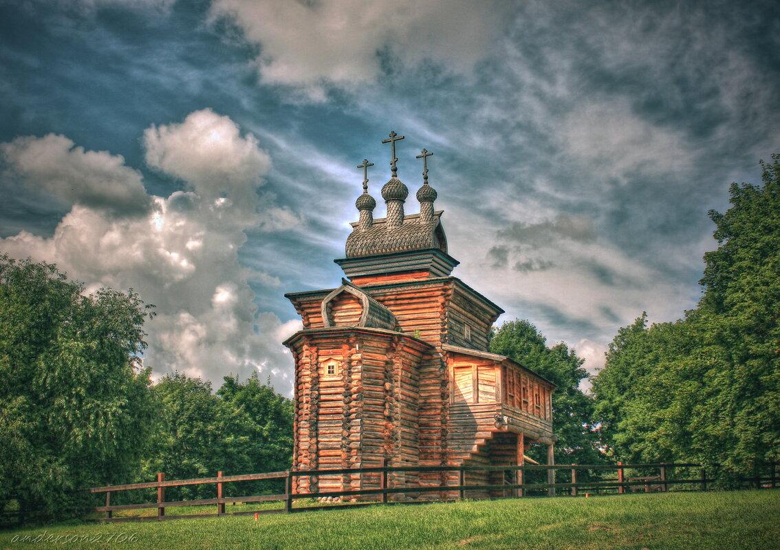 Церковь Георгия Победоносца в Коломенском - anderson2706