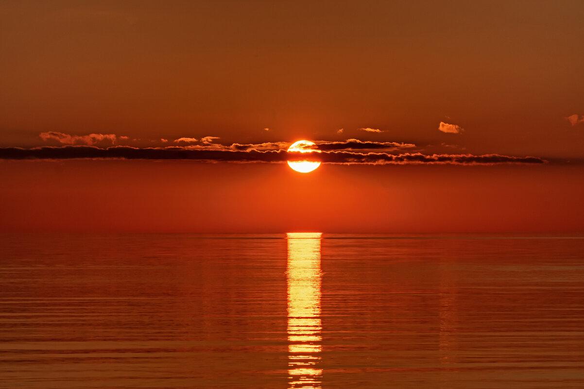 Закат на озере - Виктор Желенговский
