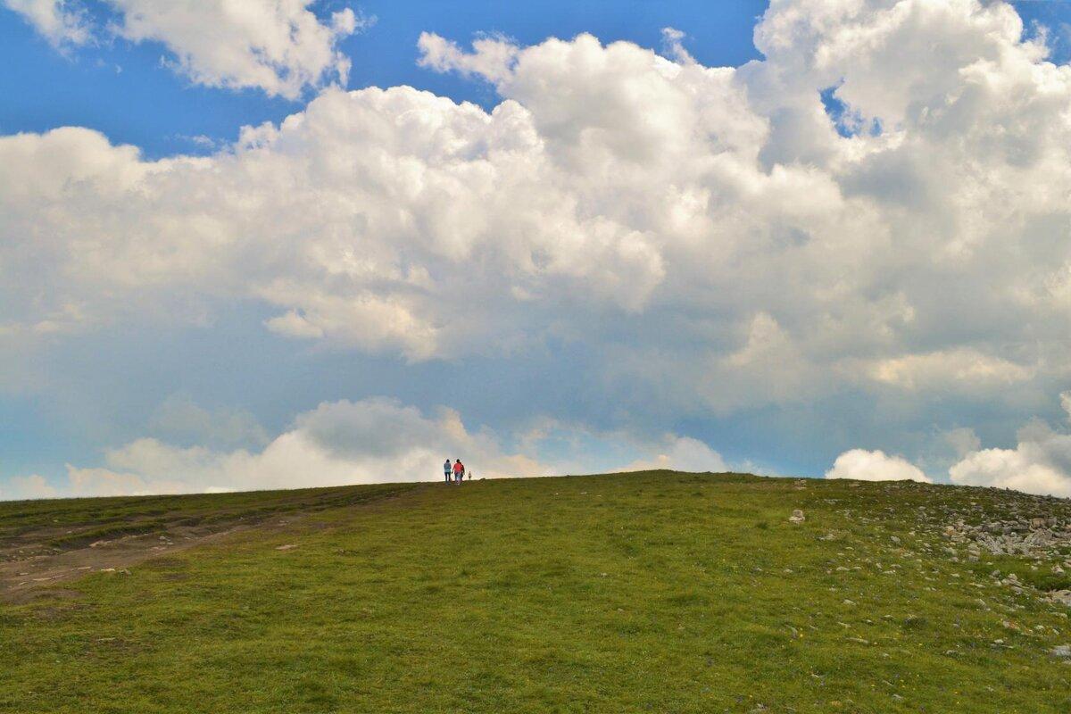 Дорога к облакам... - Клара
