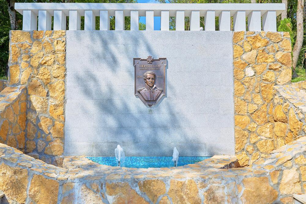 Железноводск. Городской парк. Центральная аллея. Каскадная лестница фонтан-водопад - Николай Николенко