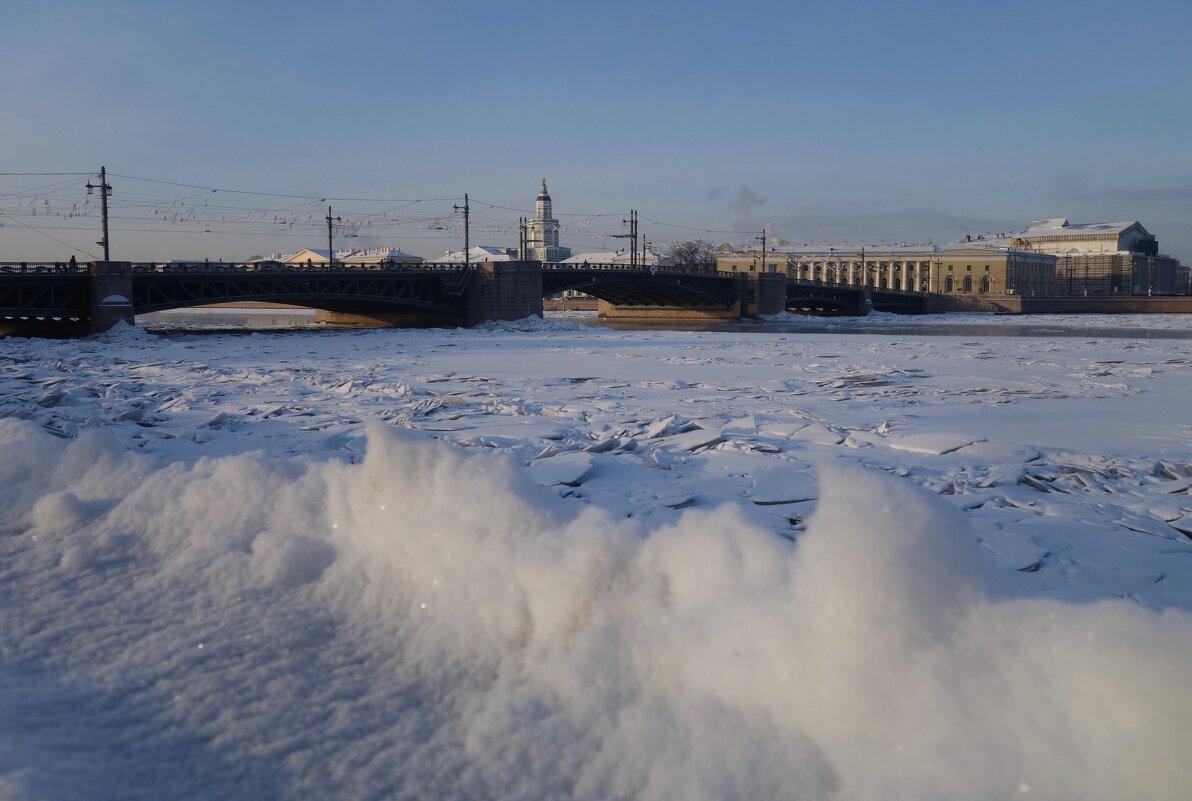 волны снега - Елена