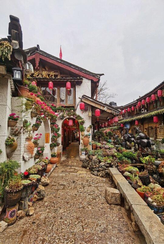 Старый город в Лицзяне, Юньнань, Китай - Дмитрий