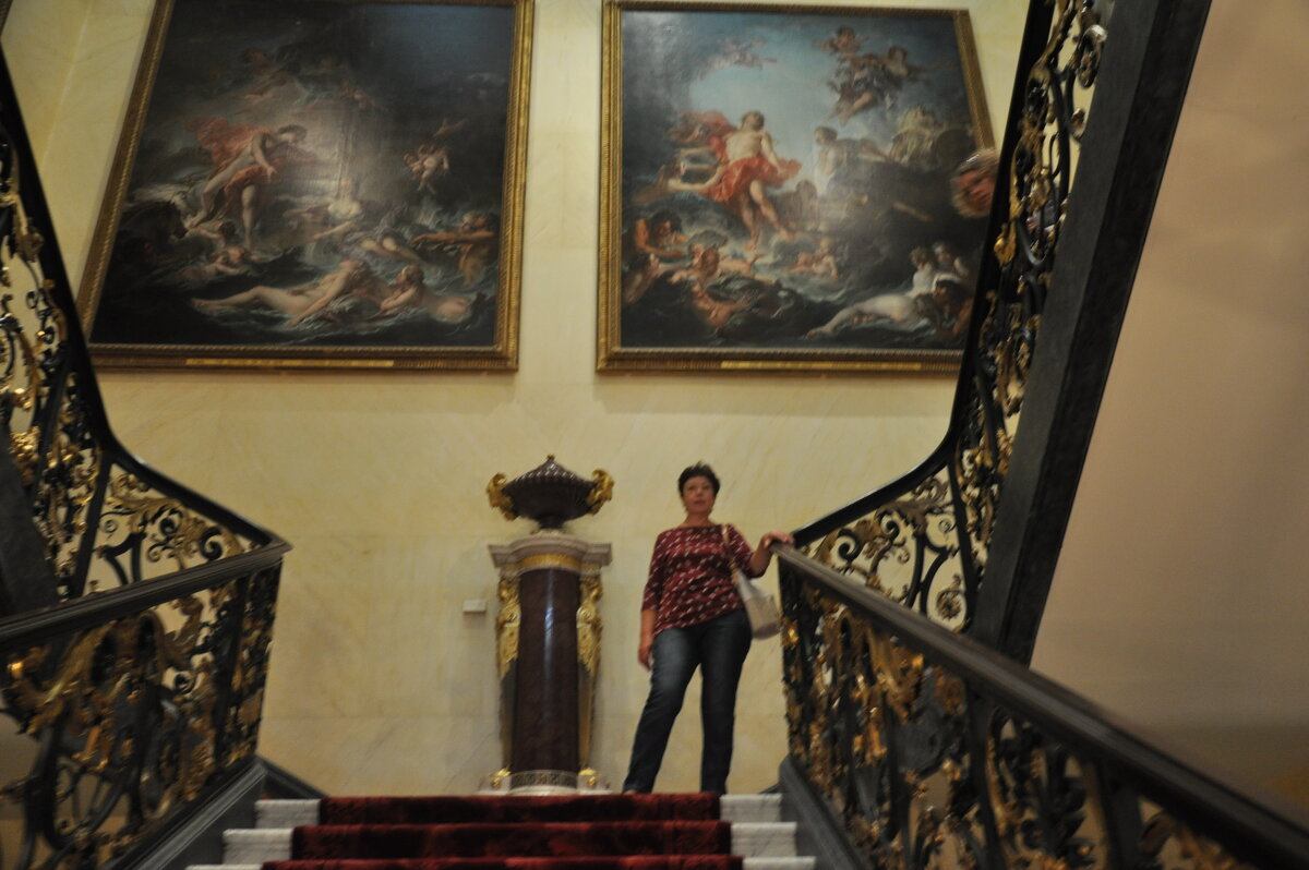 В музее Тейт - Борис