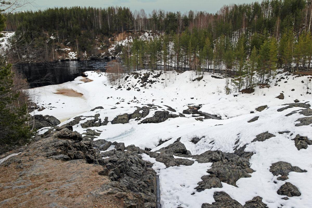 Кратер вулкана Гирвас - skijumper Иванов