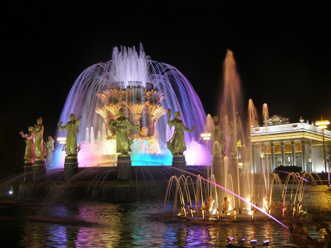 фонтан Дружба народов - Анна Воробьева