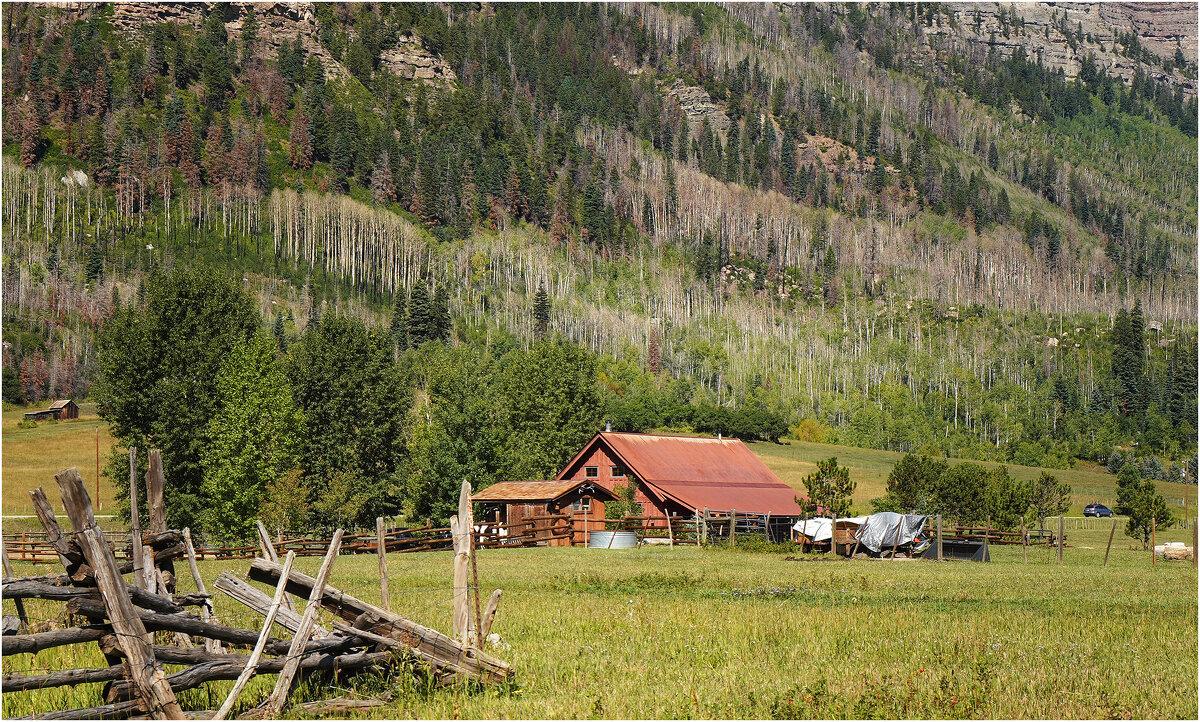 Старое ранчо в предгорье - Танкист .