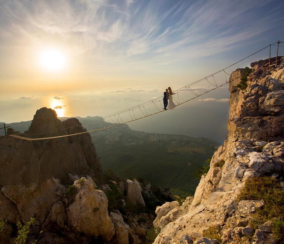Поцелуй на высоте 1234 метра над уровнем моря - Сергей Титов