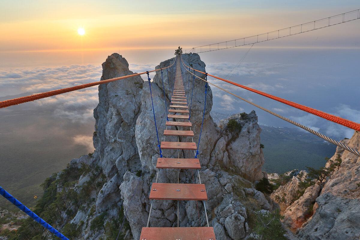 Подвесной мост на Ай-Петри - Сергей Титов