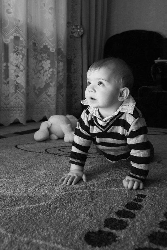 Портрет в ч/б - Михаил Тарасов