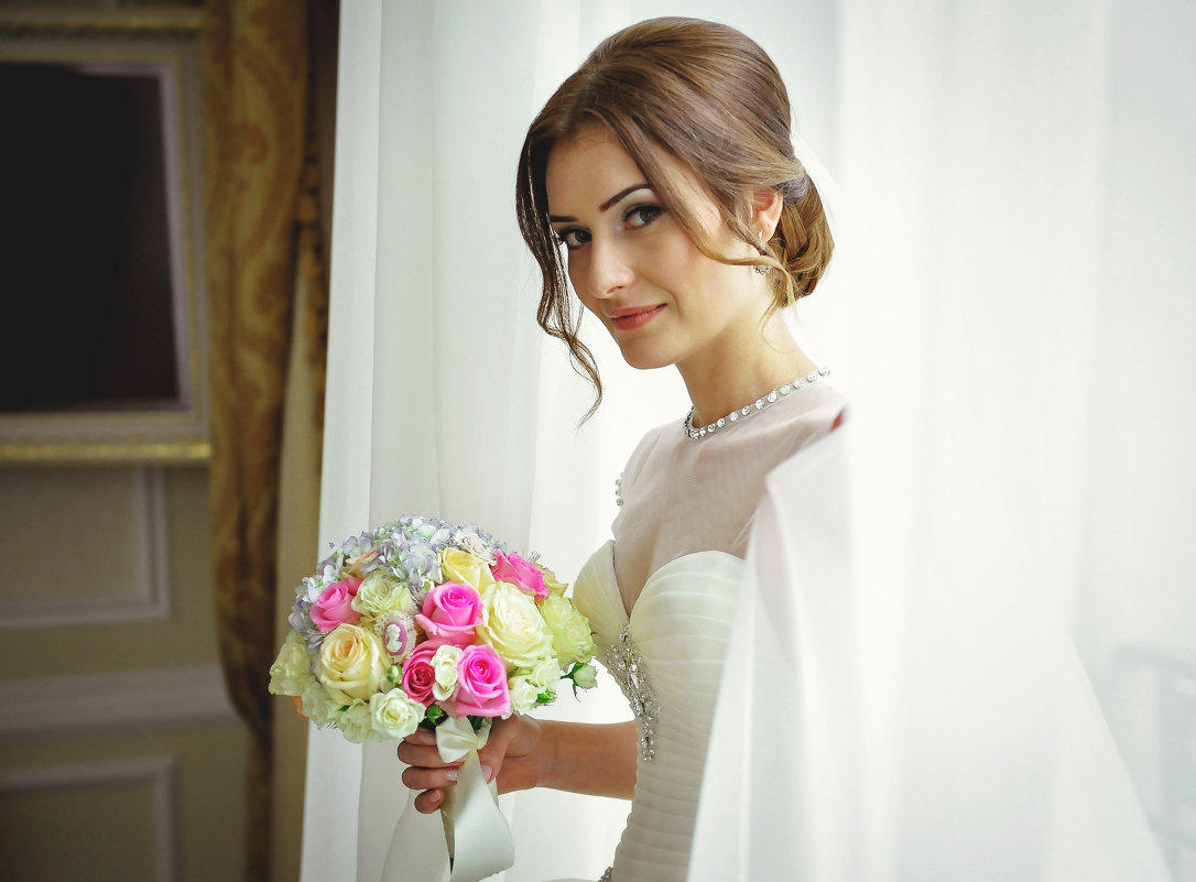 невеста и букет... - Батик Табуев