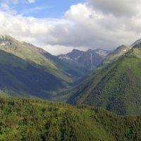 Тебердинские горы :: Сергей Катин