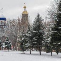 зимний пейзаж :: Андрей Ракита