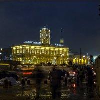 Сумерки на Комсомольской пл. :: Наталья Rosenwasser