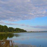 Озеро на закате :: Вероника Томилова